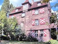 Verkauf historische Immobilie: Stadtschloss / Patrizierhaus in Nürnberg, parkähnlicher Garten