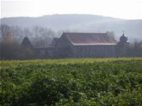 Schloss Unterfranken / Bayern: Verkauf renovierungsbedürftiges Schloss / ehemaliges Wasserschloss bei Bad Kissingen
